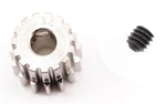 Robinson Racing Steel 48P Pinion Gear (1/8th Bore) (15T)