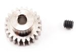 Robinson Racing Steel 48P Pinion Gear (1/8th Bore) (22T)