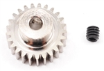 Robinson Racing Steel 48P Pinion Gear (1/8th Bore) (25T)