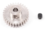 Robinson Racing Steel 48P Pinion Gear (1/8th Bore) (30T)