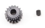 "Robinson Racing ""Aluminum Pro"" 48P Pinion Gear (1/8th Bore) (18T)"