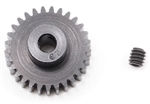 "Robinson Racing ""Aluminum Pro"" 48P Pinion Gear (1/8th Bore) (29T)"