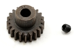 Robinson Racing Extra Hard Steel .8 Mod Pinion Gear w/5mm Bore (21T)