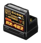 Sanwa/Airtronics RX-482 2.4GHz 4-Channel FHSS-4 SSL Telemetry Receiver