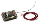 Spektrum RC SR6100AT 6-Channel AVC Telemetry Surface Receiver