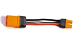 "Spektrum RC IC5 4"" Device to IC3 Battery Charge Lead"