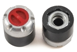 SSD RC Scale Locking Hubs (Red) (2)
