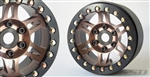 SSD RC 1.9 Prospect Beadlock Wheels (Bronze) (2)