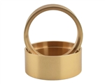 SSD RC RC Brass 1.9 Internal Lock Rings (2) (25.0mm)