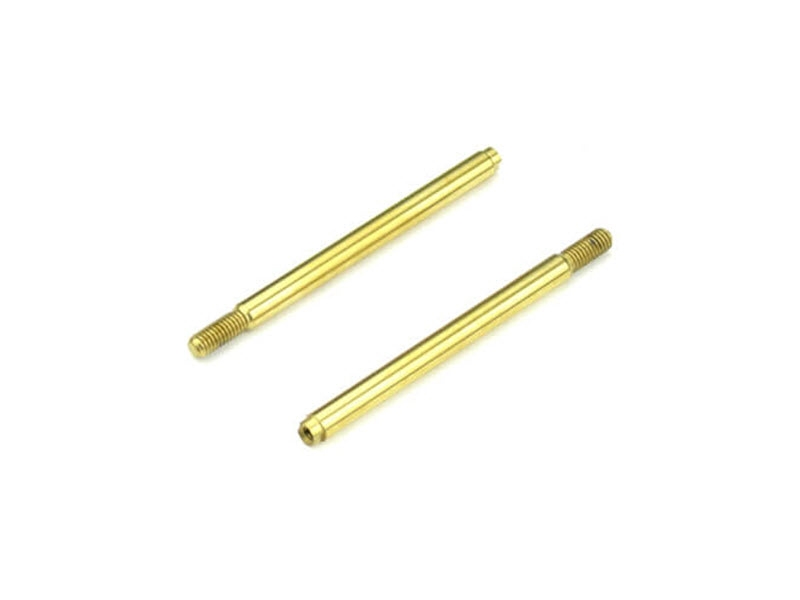 TKR6704T Tekno RC Shock Shafts (rear, steel, TiNi coated, EB410, 2pcs)