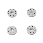 Tekno RC Shock Piston Set (8x1.2,8x1.3,flat/flat,13mm,4pcs)