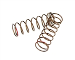 Tekno RC Shock Spring Set (rear, 1.3x8.875, 3.22lb/in, 63mm, red)