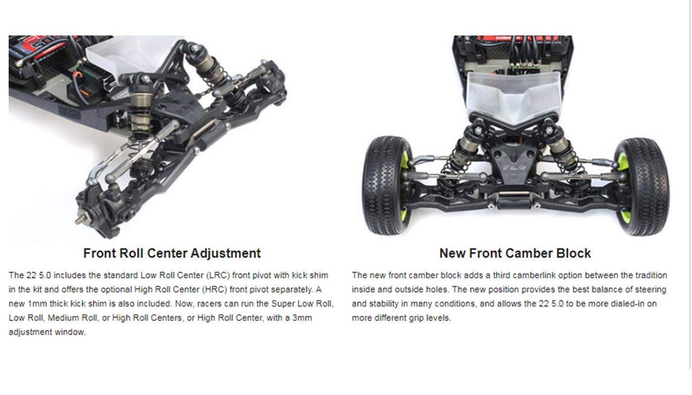 Team Losi Racing 22 5 0 DC Elite 1/10 2WD Buggy Race Kit (Dirt / Clay)