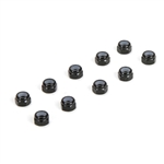 TLR336004 Team Losi Racing M3 Aluminum Lock nuts (10)