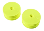 Team Losi Racing Front Wheel Yellow (2): 22X-4