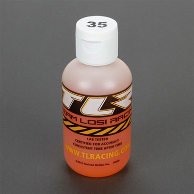 TLR74024 Team Losi Racing Silicone Shock Oil, 35 Wt, 4oz