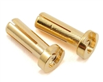TQW2502 TQ Wire Products 14mm 4mm Bullet Male Connectors (2)