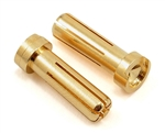 TQW2507 TQ Wire Products 5mm Low Profile Bullet Male Connectors (2)