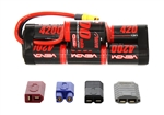 Venom Power 7 Cell NiMH Hump Battery w/Universal Connector (8.4V/4200mAh)