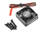 "YEA-YA-0472BK Yeah Racing 30x30x10mm Aluminum ""Tornado Plus"" High Speed Cooling Fan"