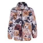 Puppies Adult Fleece Jacket