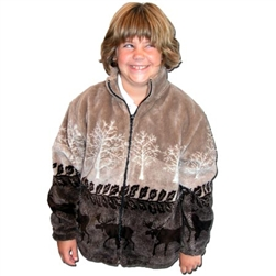 Moose Crossing Children'ö√†√∂'àö√Ü'ö√†√∂'ö√†√®'âà√≠¬¨¬©s Fleece Jacket