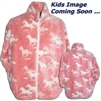 Pink Ponys Childrens Fleece Jacket