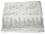 Trees Satin Lined 60 x 50 Fun Fur Blanket