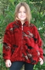 Red Horses Children's Fleece Jacket