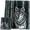 Timber Wolf Reversible 60 x 50 Fleece Blanket