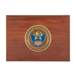 Keepsake Box w/ Medallion (CBP)