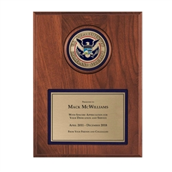 Medallion Plaque (DHS)