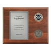 Coins Plaque - Nickel/Silver (DHS)