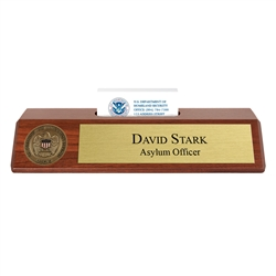 Nameplate / Business Card Holder (USCIS)