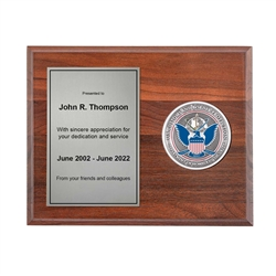 Medallion Plaque Award (CBP)