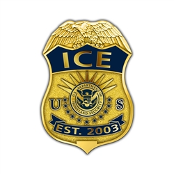 ICE Badge Lapel Pin