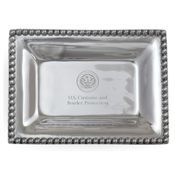 CBP Small Pewter Tray