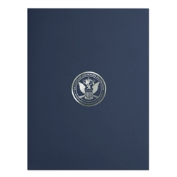 CBP Two-Pocket Linen Folder