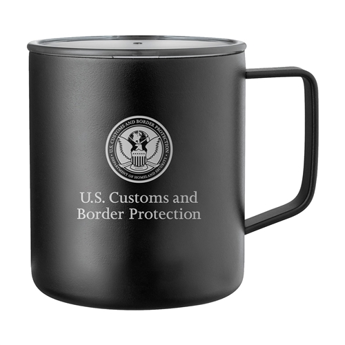 CBP Stainless Insulated Camp Mug