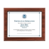 Slip-In Certificate Plaque