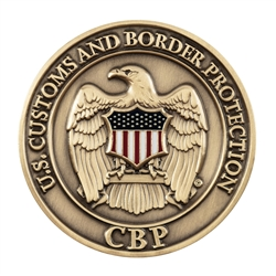 CBP Agency Coin - Brass/Color