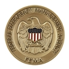 FEMA Agency Coin - Brass/Color