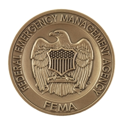 FEMA Agency Coin - Antique Brass