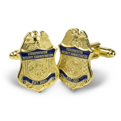 TSA Badge Cufflinks