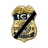 ICE Badge Mourning Lapel Pin – Officer