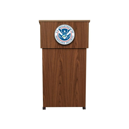 Molded Podium/Wall Sign DHS Seal (15 in.)