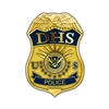 DHS Badge Lapel Pin - Police