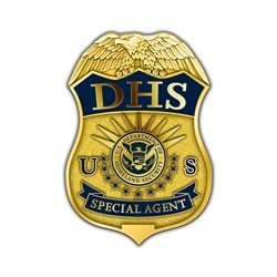 DHS Badge Lapel Pin - Special Agent
