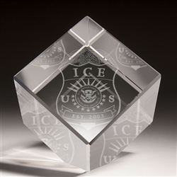 3-D Crystal Cube (ICE)