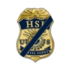 HSI Mourning Badge Gold Lapel Pin